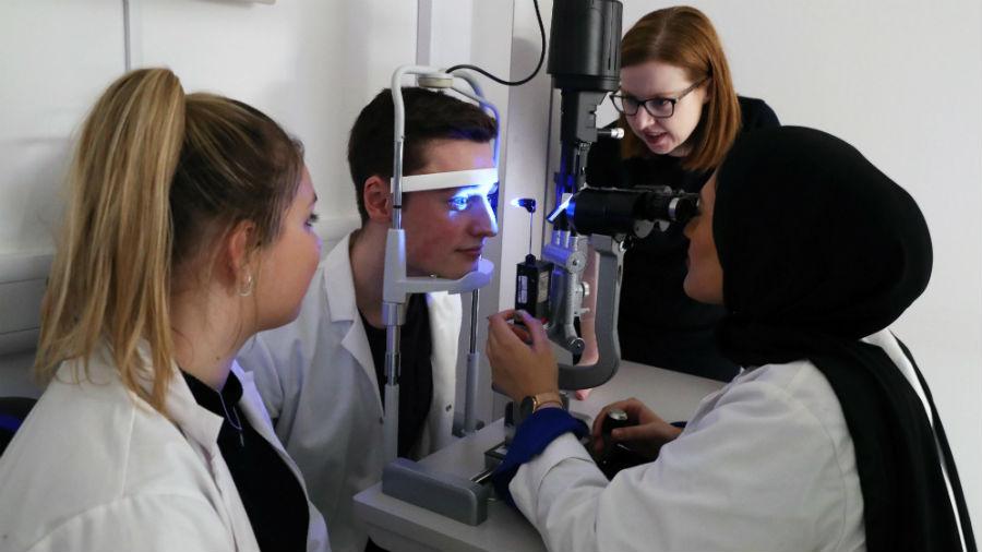 Undergraduate - School of Optometry and Vision Sciences