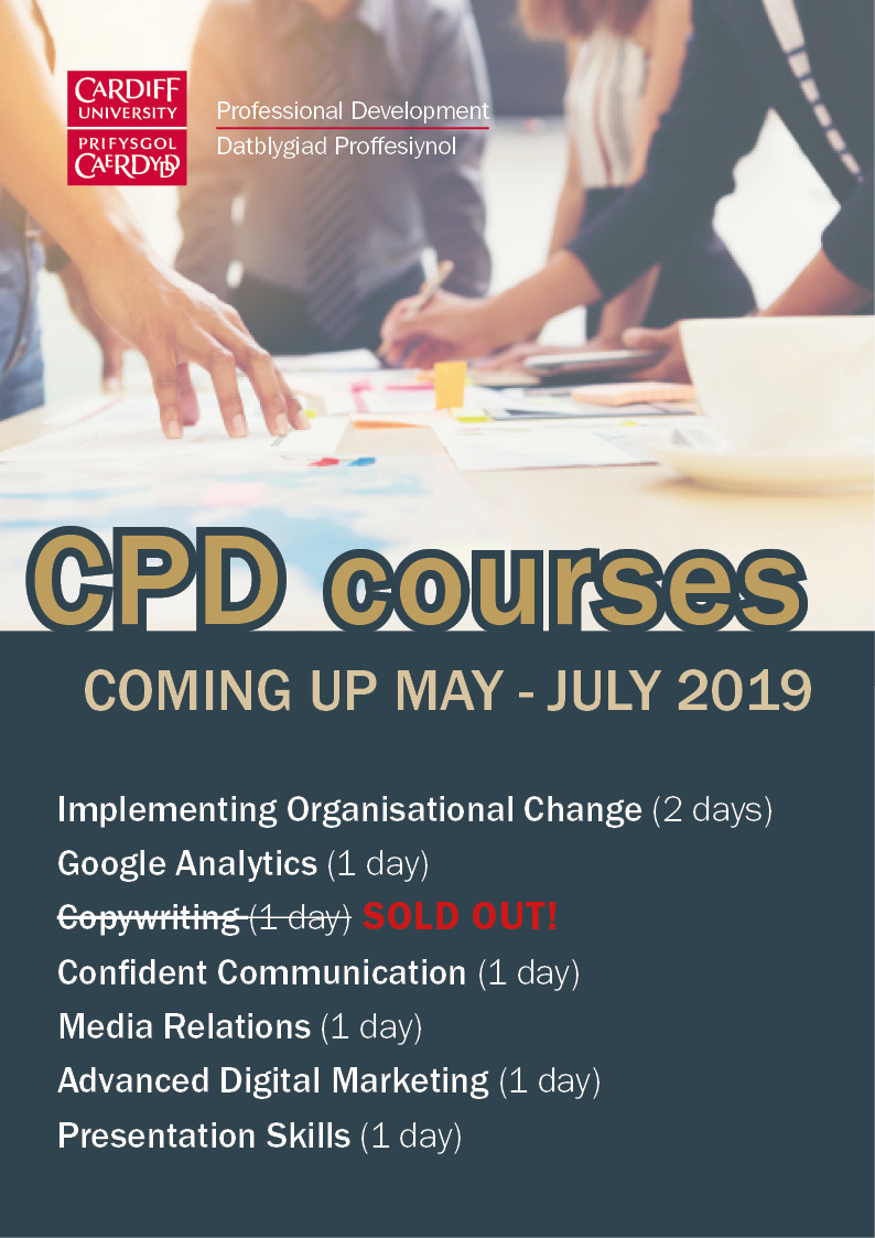 CPD training courses coming up this summer