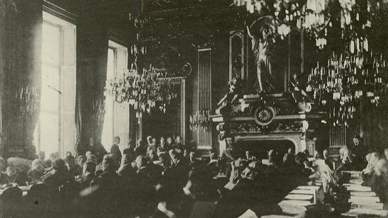 THE PARIS PEACE CONFERENCE, 1919 Term Paper