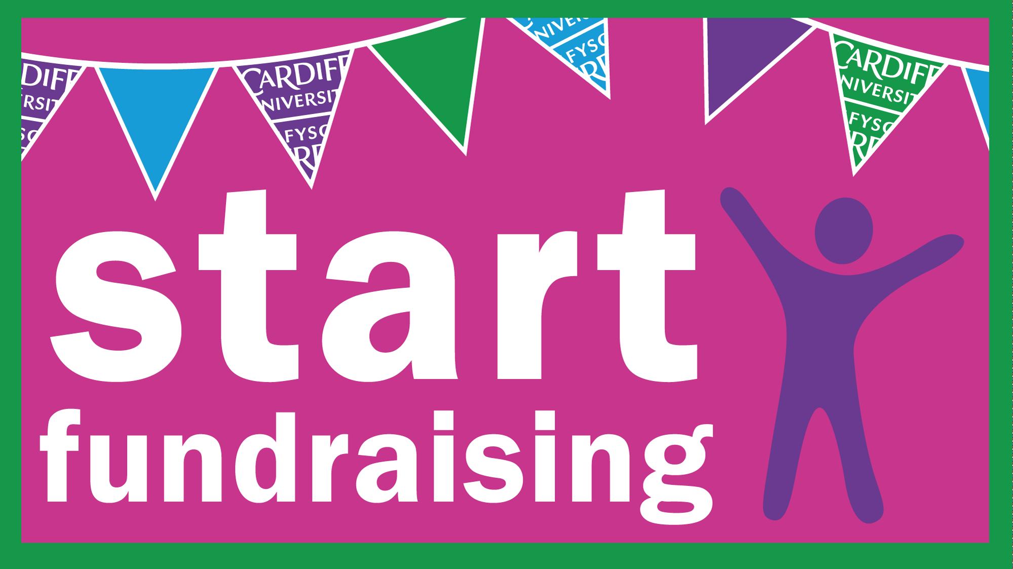 Start fundraising banner image