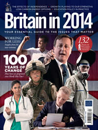 The cover of 'Britain in 2014'