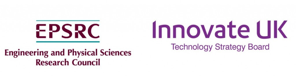 EPSRC and Innovate UK logos