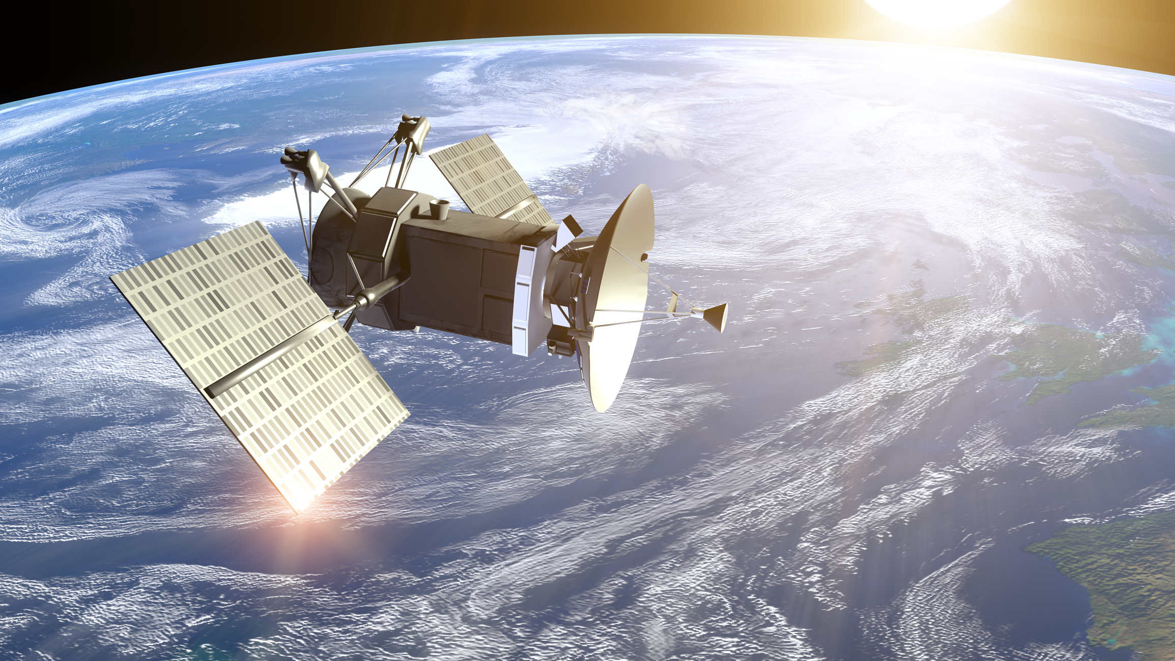 spacecraft circling earth - photo #22