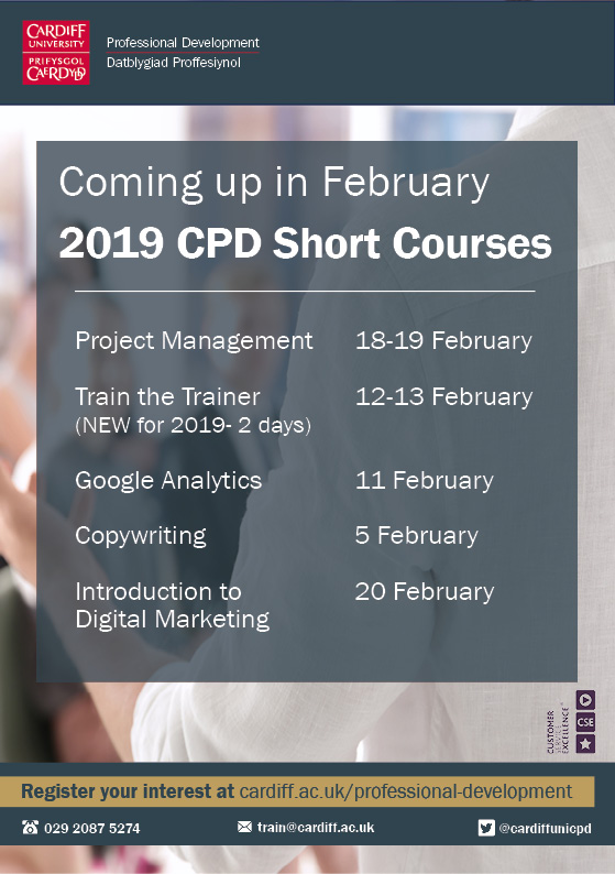 Short CPD courses coming up in February