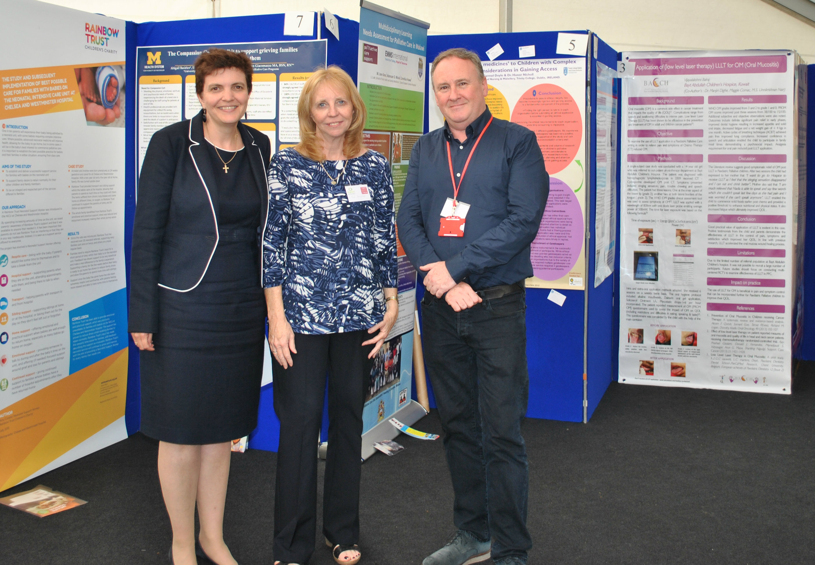 Cardiff Conference poster judges