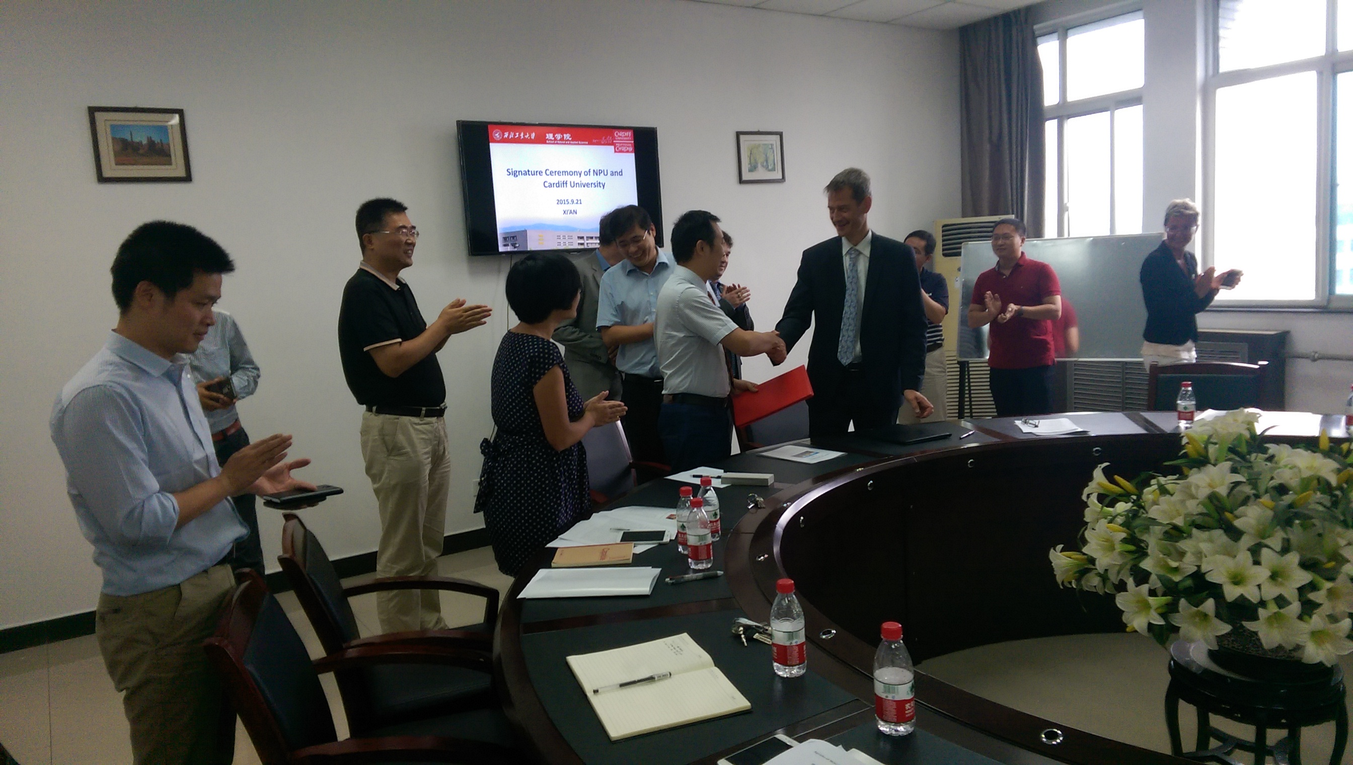 China Visit NPU