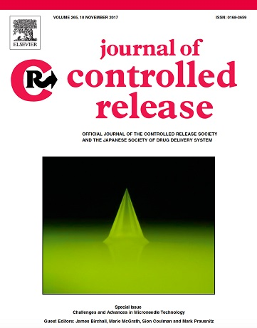 Journal Cover of Journal of Controlled Release